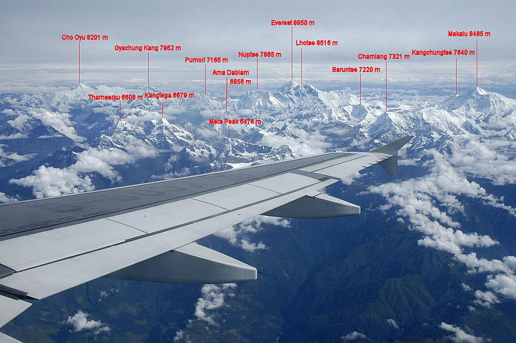 Luftbild Cho Oyu + Everest + Makalu von S[1]