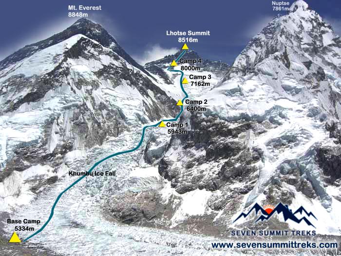 Lhotse map